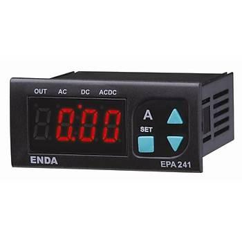 EPA241-230VAC 60mV Şöntlü Dijital AC/DC Ampermetre ENDA