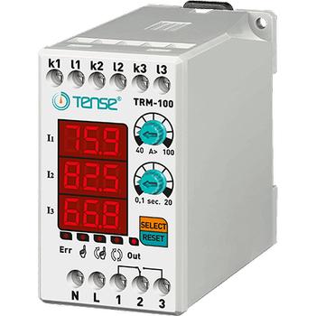 TRM-100 40A-100A Dijital Termik Röle TENSE