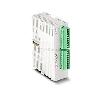 DVP04PT-S 4 Adet PT100 Giriþli PLC Sýcaklýk Modülü DELTA