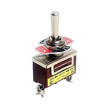 IC-155 ON-OFF-ON Yaylý Toggle Switch (3P) DAIER