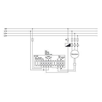 DT-36E J Tipi (Fe-Const) Dijital Isý Kontrol Cihazý TENSE