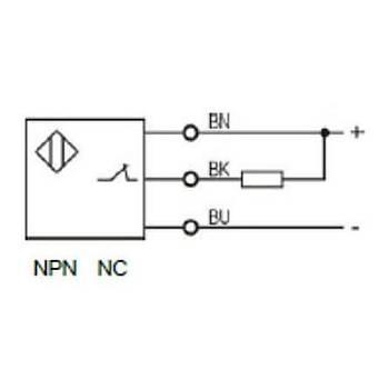 LR18TBF05DNC M18 NPN/NC Ýndüktif Sensör LANBAO