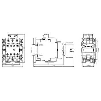 UEC1-09C11M7 9A 1NO+1NC Kontaklý Güç Kontaktörü TENSE