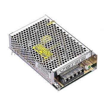 24VDC 8,5A (200W) Delikli Tip Güç Kaynaðý MS-200-24 HVIELE
