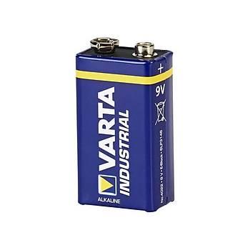 9V Alkalin Endüstriyel Pil 6LR61 VARTA
