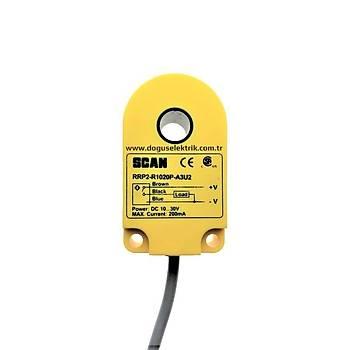 RRP2-R1020P-A3U2 10mm PNP/NO Ýndüktif Ring Sensör SCAN