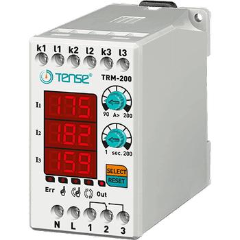 TRM-200 90A-200A Dijital Termik Röle TENSE
