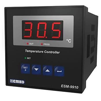 ESM-9910 Tek Setli Tek Röleli J Tipi 220VAC Dijital Termostat EMKO