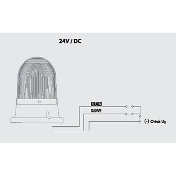 SNT-725-C-1 220V AC Çakar Ledli Mini Tepe Lambasý MUCCO