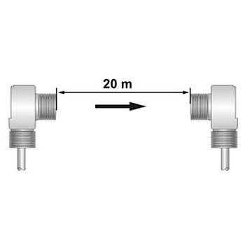 T18-T020MP-CY9Q4UE 20mt Karþýlýklý Fotosel Sensör (Alýcý) SCAN
