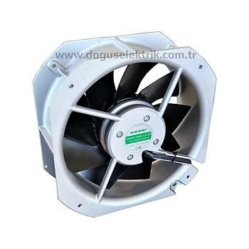 PD225M-220 225x225x80mm 220VAC Rulmanlý Kare Fan SALZER