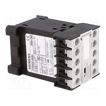 3TH2022-0BB4 24VDC 2NO + 2NC Yardýmcý Kontaktör SIEMENS