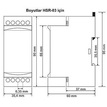 HSR-03 3'lü Hidrofor Sýralama Rölesi TENSE