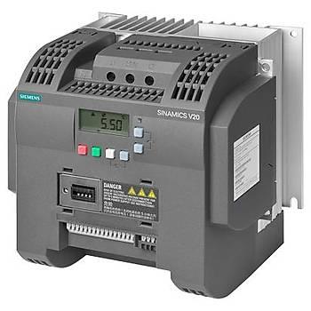 6SL3210-5BB23-0UV0 3,00 KW Hýz Kontrol Cihazý Sinamics V20 Siemens