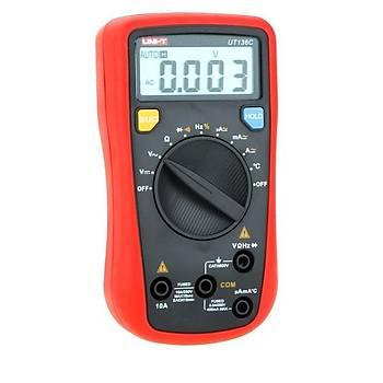 UT 136C El Tipi Dijital Çok Fonksiyonlu Multimetre UNI-T