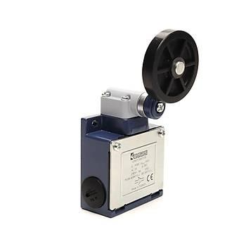 L53K13MEL121 50mm Plastik Makaralý Döner Kollu Limit Switch EMAS