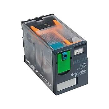 RXM4AB1P7 230VAC 6A 4 Kontaklý (4PDT) Röle SCHNEIDER