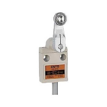 CZ-3104 Metal Açýsal Kol Makaralý Kablolu IP67 Limit Siviç CNTD