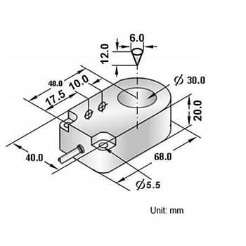 RRP2-R3020P-A3U2 30mm PNP/NO Ýndüktif Ring Sensör SCAN