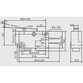 AV-153-1C25 Uzun Metal Palet Kollu Mikro Siviç ALRRA