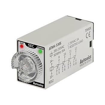 ATM4-530S 30sn 220VAC Zaman Rölesi AUTONICS