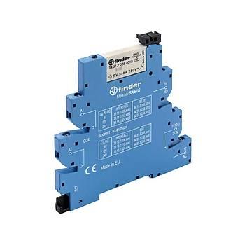 39.11 24VDC Slim Röle + Soket (PLC Rölesi) FINDER