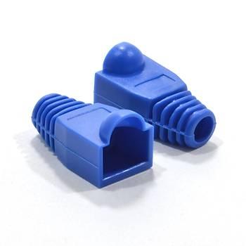 RJ45 Mavi Plastik Plug Kýlýfý MP110-M ORING