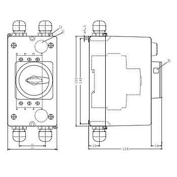 3RV1923-1FA00 Acil Tip Motor Koruma Þalter Kutusu SIEMENS