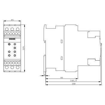 3RW4027-1BB14 Sirius Softstarter 15 KW SIEMENS