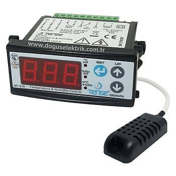 HT-310 Dijital Sýcaklýk ve Nem Kontrol Cihazý TENSE