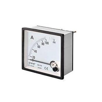 A72-50D 50A 72x72mm Direk Baðlantýlý Analog Ampermetre TENSE