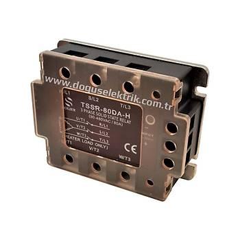 TSSR-80DA-H 80A Trifaze 4-32VDC / 90-480VAC Solid State Röle SOLJEX