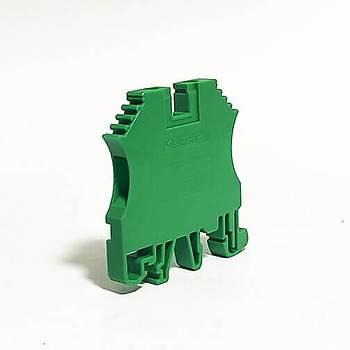 PEK-6 Vida Bağlantılı Ray Klemens Yeşil 305142 KLEMSAN