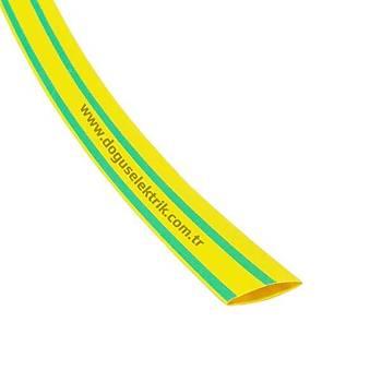 12.7mm Sarı-Yeşil Isı ile Daralan Makaron WOER