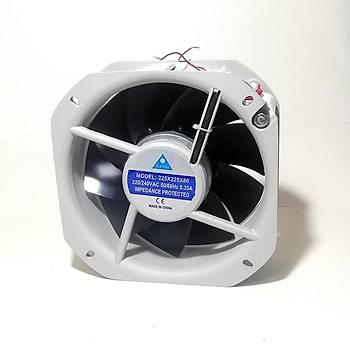 225x225x80mm 220VAC Rulmanlı Kare Fan İLETİM