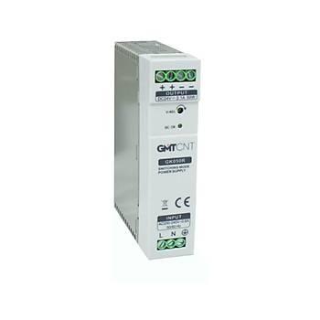 GK050R 24VDC 2,1A Ray Tipi Güç Kaynaðý GMT