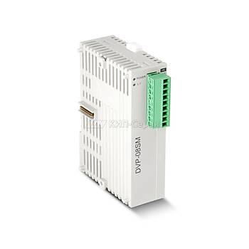 DVP08SM11N 24VDC 8 Giriþli PLC Geniþleme Modülü DELTA