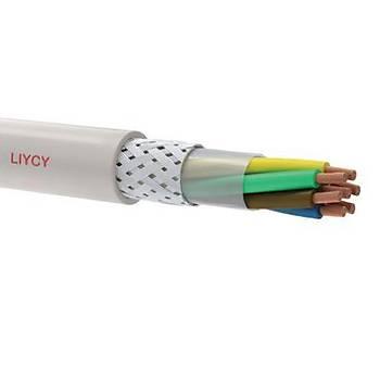4x0,22mm2 LIYCY Blendajlý Sinyal ve Kontrol Kablosu