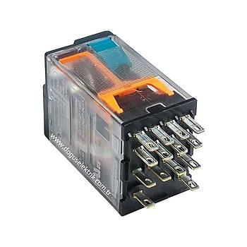 RXM4AB1BD 24VDC 6A 4 Kontaklý (4PDT) Röle SCHNEIDER