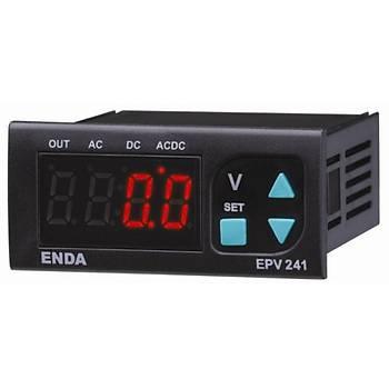 EPV241-230VAC Dijital AC/DC Voltmetre ENDA
