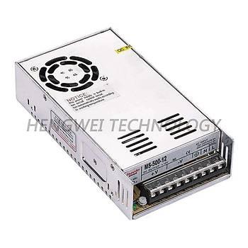 24VDC 20A (500W) Delikli Tip Güç Kaynaðý MS-500-24 HVIELE