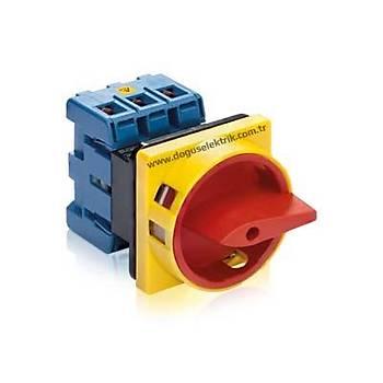 KG20B T203/01E 3x25A Kilit Mekanizmalı Emniyet Pako Şalteri Kraus & Naimer