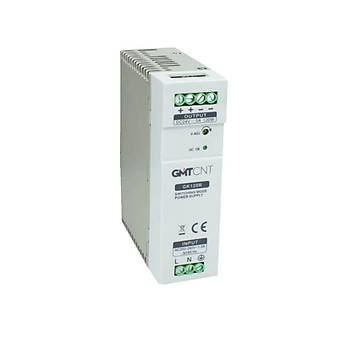 GK120R 24VDC 5A Ray Tipi Güç Kaynaðý GMT