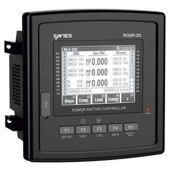 RGSR-15S 12 Kademe + SVC Reaktif Güç Kontrol Rölesi ENTES