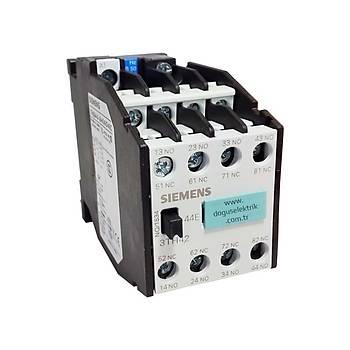 3TH42-44 24VAC 4NO + 4NC Yardýmcý Kontaktör SIEMENS