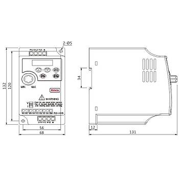 CV20-2S-0007G 0,75 KW Hýz Kontrol Cihazý KÝNCO