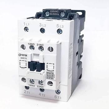 UEC1-50C11M7 50A 1NO+1NC Kontaklý Güç Kontaktörü TENSE