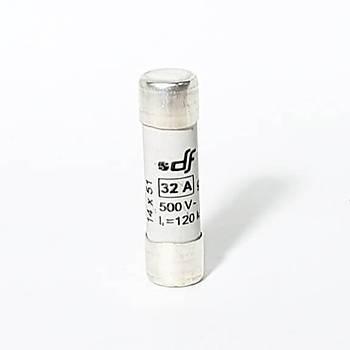 14x51mm 32A Gecikmeli Tip (gG) Kartuþ Sigorta 421032 DF
