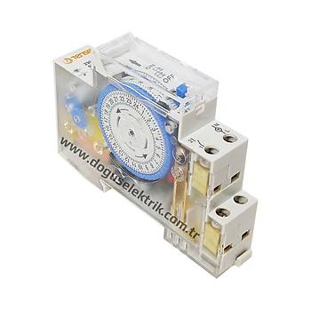 MTR-15 Rezervli Mekanik Zaman Saati TENSE