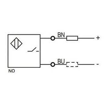 LR12TBN04DLO M12 2 Uçlu NO 10-30VDC Ýndüktif Sensör LANBAO